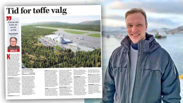 Hvis vi skal snu befolkningsutviklingen i Nord-Norge kan vi ikke la lokale kretsmesterskap overskygge det store bildet, skriver Høyres Bård Ludvig Thorheim i sitt svar på denne kommentarartikkelen fra Nordlys-redaktør Skjalg Fjellheim.