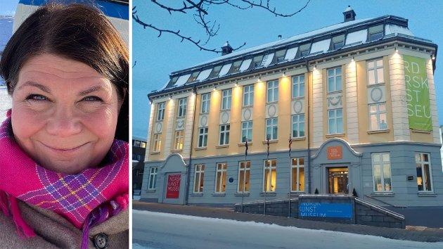 Styreleder Trine Noodt i Se Kunst i Nord-Norge (SKINN) forklarer forskjellen og forholdet mellom mellom denne institusjonen og Nordnorsk Kunstmuseum (bildet). - Det er en del misfirståelser ute og går, skriver hun.