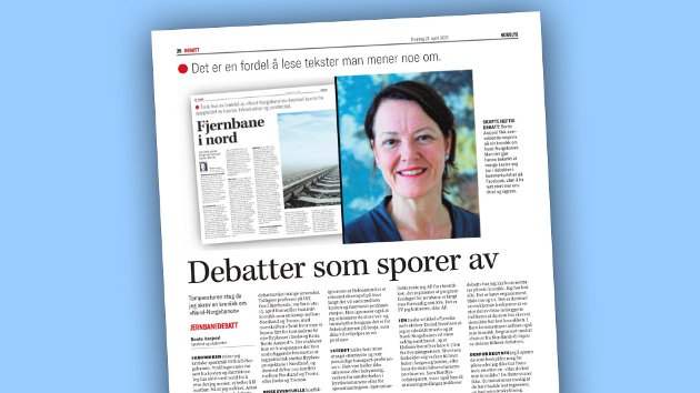 Eivind Sivertsen svarer på dette innlegget fra Bente Aasjord.