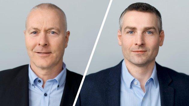 Espen Jacobsen og Tor Are Vaskinn, avdelingsledere i Fiskebåt