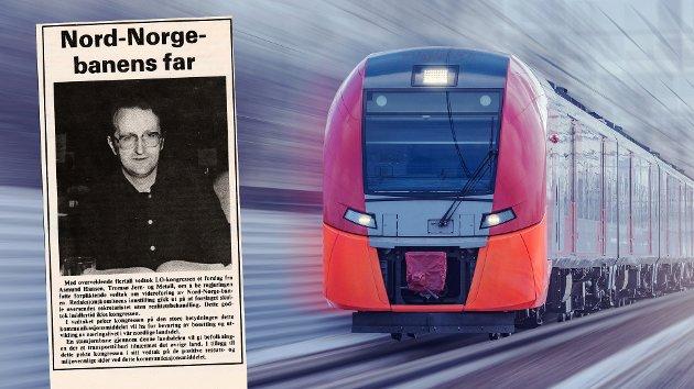 Med overveldende flertall vedtok LO-kongressen i 1981 et forslag fra Asmund Hansen, Tromsø Jern- og Metall, om å be regjeringen fatte forpliktende vedtak om videreføring av Nord-Norgebanen.