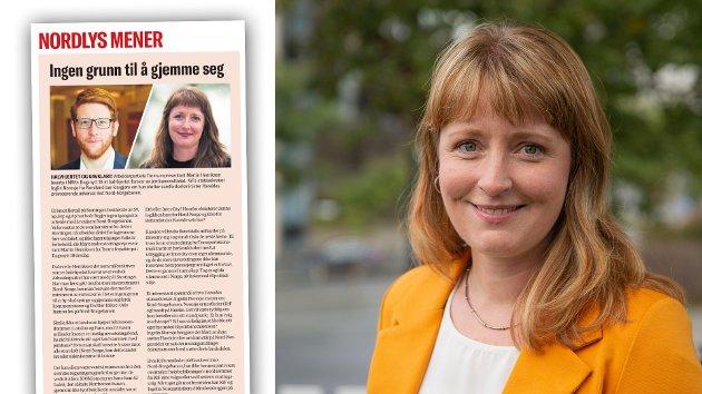 Stortingets vedtak, og særlig Arbeiderpartiets populistiske piruett, er kun et spill for å kapre velgere. Nord-Norge får ikke infrastrukturen vi trenger gjennom stortingspolitikere som trekker jernbanetraseer med fargeblyanter, skriver KrFs Ingelin Noresjø.