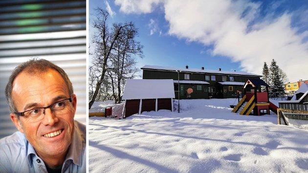 """Domkirkens barnehage ligger i dag på toppen av Holtbakken på Tromsøya. Nå kan den bli slått sammen og samlokalisert med en annen barnehage på Håpet i et nybygg i det planlagte byggefeltet Norheim mellom Fagereng og Holt. """"Vi tror at dette er en gyllen mulighet til å gi barna i Læringsverkstedet Heimly og Domkirkens menighetsbarnehage enda bedre lokaler å utfolde seg i, og at kvaliteten blir hevet ytterligere gjennom et større fagmiljø"""", skriver Lasse Rosten i Læringsverkstedet Solkollen."""