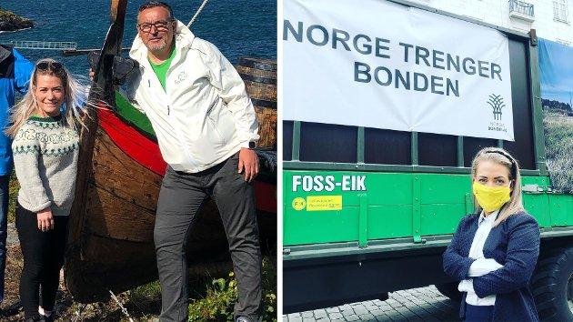 Vårt klare budskap til det politiske Norge er at nå må vi gi bonden en inntekt å leve av! skriver Senterpartiets Sandra Borch og Svein Oddvar Leiros.