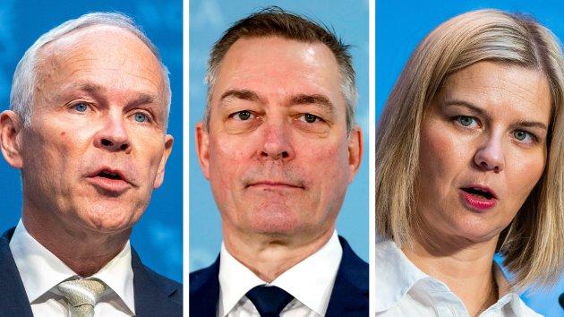 Arroganse og tvang framstår stadig mer tydelig som Solberg-regjeringas ideologi, skriver SVs Edvin M Eriksen - og viser til eksempler fra Jan Tore Sanner, Frank Bakke-Jensen og Guri Melby.