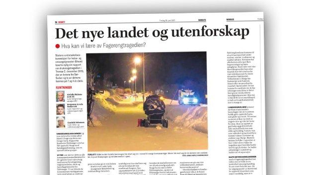 Johannes Hansen kommenterer denne kronikken i Nord-Norsk debatt.