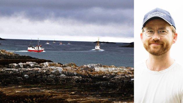 Det er legitimt å ha ein debatt om særlege formar for fiskeriversemd, til dømes botntråling, bør vere tillaten i marine verneområde. Men kystkommunane treng ikkje vere bekymra for at det no er aktuelt med nye og inngripande tiltak for fiskeriverksemda i verneområda våre til havs, skriv klima- og miljøminister Sveinung Rotevatn (V).