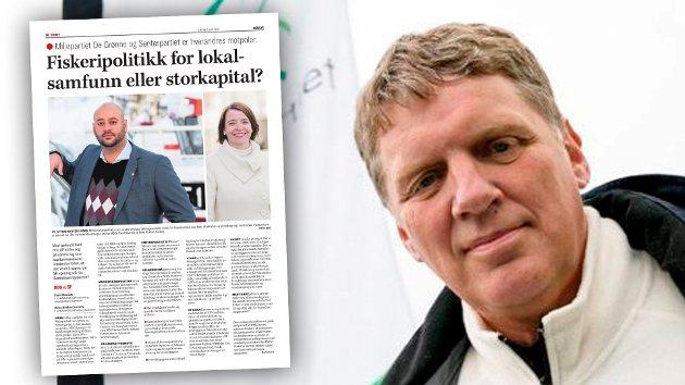 Senterpartiets stortingsrepresentant Geir Adelsten Iversen svarer på innlegg fra MDG.
