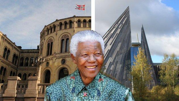 Kan du, Nelson Mandela, sende noen helbredende ord ned til både Sametinget og Stortinget, så vi får justert prinsippet som du ønsket og fikk gjennomført i Sør-Afrika, nemlig: en person, en valgstemme! skriver Kjell Sundfær.