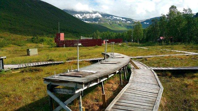 OMSTRIDT: Skytebanen i Tromsdalen.