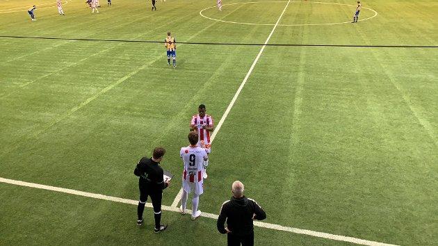 TILBAKE: Runar Espejord var endelig tilbake i spill for TIL. Det hjalp ikke, for Alta ble for sterke i cupens andre runde. Men innsenderen har løsninga. Foto: David Nyvoll