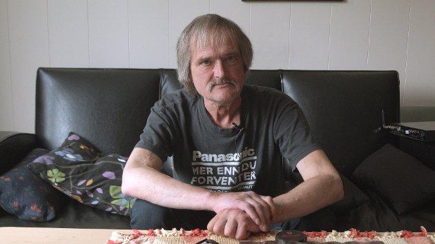 NOTORISK: Per Andreassen, bedre kjent som Per Parker, var i flere årtier en av Tromsøs mest notoriske skikkelser. Nå, tre år etter hans død, er endelig filmen om ham ferdig.