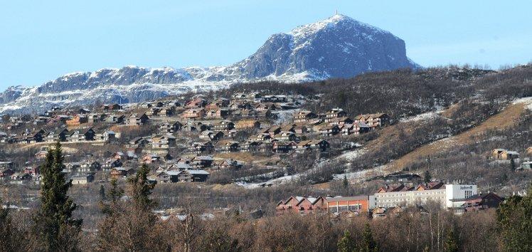 Hytter: Oppland er landets største hyttefylke med snaut 49.000 hytter. Beitostølen er ett av de største hytteomårdene.