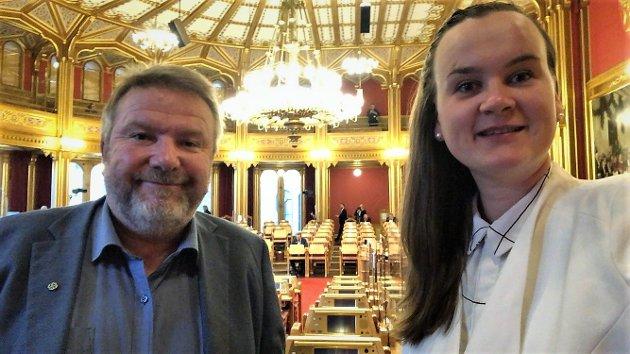 MÅLSETTING: - I februar kom rapporten fra Politidirektoratet som viste at det kun ble to flere operative politifolk i hele landet gjennom reformen, skriver stortingsrepresentantene Bengt Fasteraune og Marit K. Strand (Sp).