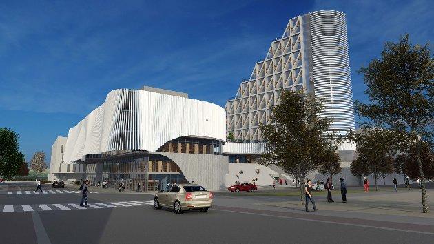 VURDERING: Rødt Gjøvik vekter noe annerledes enn konsulentselskapet Gjøvik kommune har brukt gjør i sin vurdering av alternativene til nytt kulturhus i byen.