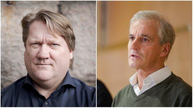 Jonas Gahr Støre fremstår ikke lenger som den udiskutable sjefen, mener politisk redaktør Eirik Mosveen.