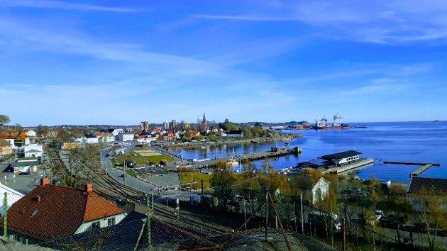 Indre havn, et område med stort potensial.