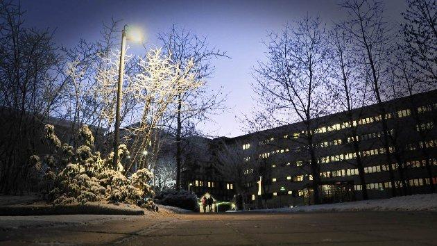 TAKKER: Innsenderen takker de ansatte ved Sykehuset Telemark.