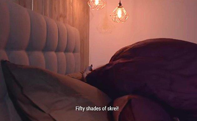 """FIFTY SHADES OF SKREI: Reklamefilmen viser blant annet klipp fra """"parringssesongen"""" i Nord-Norge."""