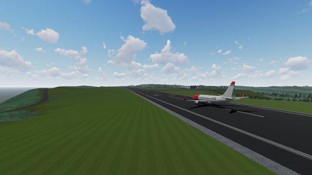 Nordlys skriver på lederplass at hele Nord-Norge vil tjene på en ny flyplass i Rana.