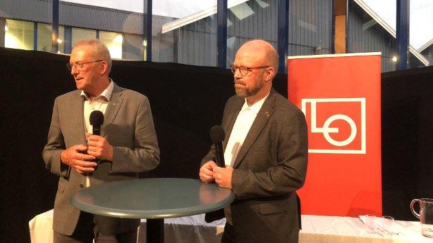 Johan Petter Røssvoll, Mats Hansen, Allan Johansen, Anne Sofie Urke og Alf Helge Straumfors mener ordfører Geir Waage løy i mandagens ordføreduell.