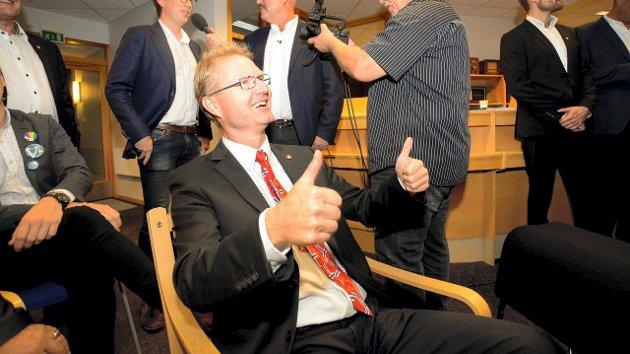 Tor Andre Johnsen jubler over valgresultatene