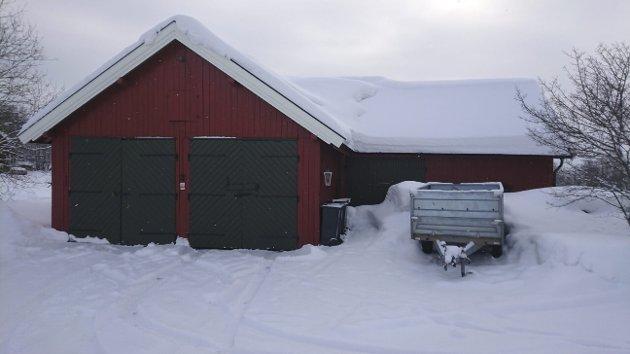 Uthuset: Feiltaksert. Foto: Privat