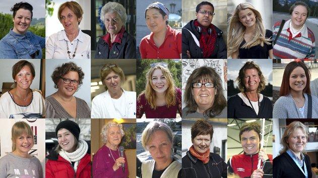 21 lokale kvinner er nominert til Årets kvinnelige forbilde.
