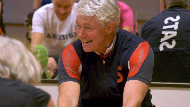 GLEDE: Jan Fredrik er ikke tvil om at trening skaper glede.