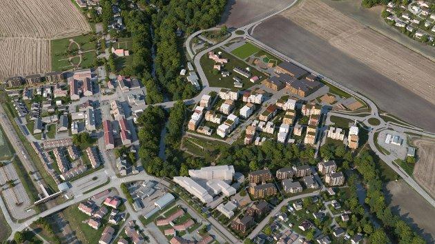 VIKTIG: Ordfører Elin Gran Weggesrud (Ap) håper på fortsatt flertall for å bygge nye sentrumsskoler i Sande i kommunestyret 16. desember.