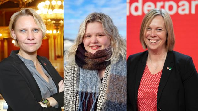 Maria Aasen-Svensrud, Camilla Maria Brekke og Elin Gran Weggesrud