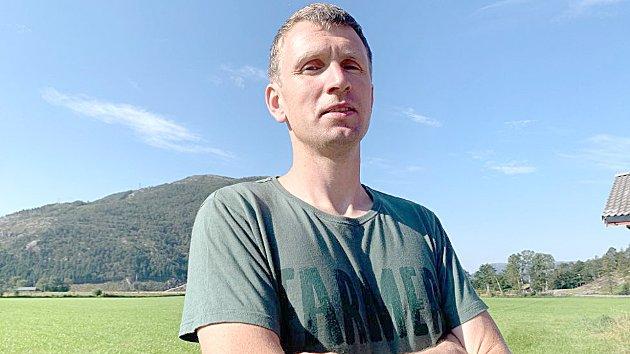 Rolf Magne Haukalid i Aksjonsgruppa ja til folkeviljen, nei til tvangssamanslåing.