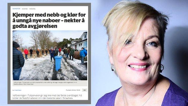 Gudrun Wiik Larsen mener Sandnespostens artikkel bommer på det som er sakens kjerne.