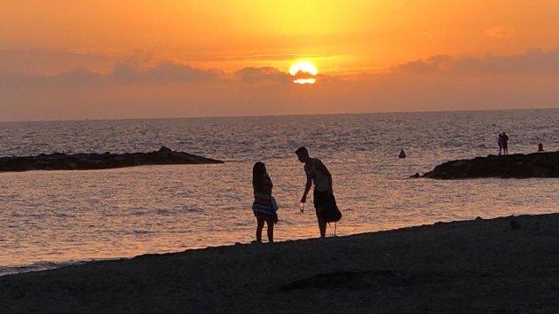 @royl.molmann Solnedgang på Tenerife juli 2019