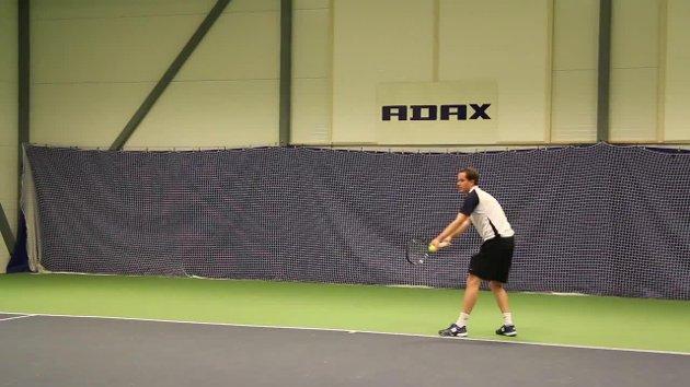 NM: Franck Fog fra Svelvik Tennisklubb.