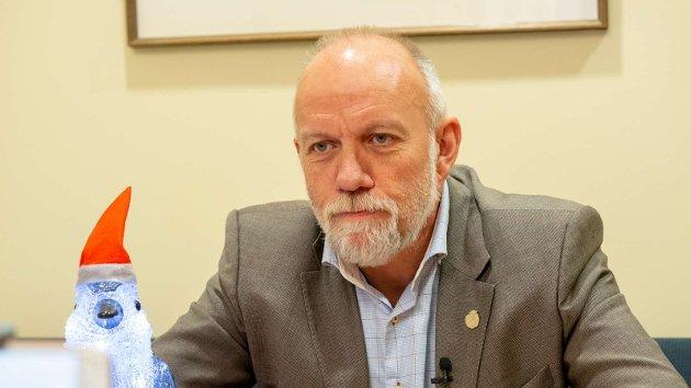 Foto av Morten Ørsal Johansen tatt på Stortinget