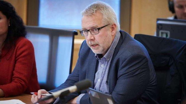 Pål Sæther Eiden er fylkespolitiker for Høyre i Trøndelag. Foto: Johan Arnt Nesgård