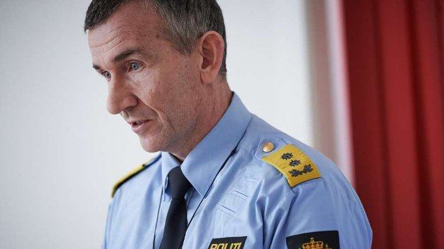 Nils Kristian Moe, politimester for Trøndelag politidistrikt.