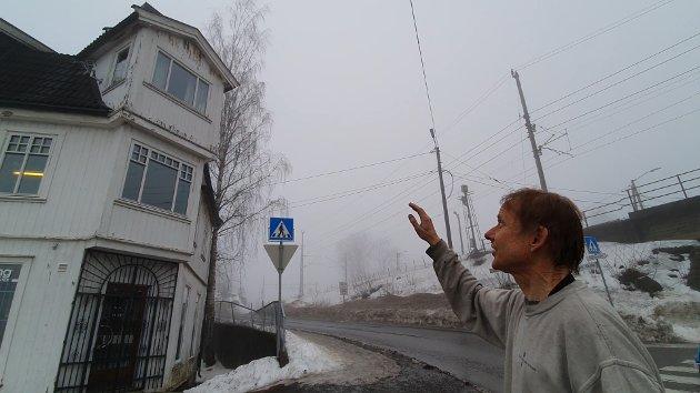 PRAKTBYGG: Vidar Myhre ønsker å restaurere Tårnhuset øverst i Stasjonsveien.