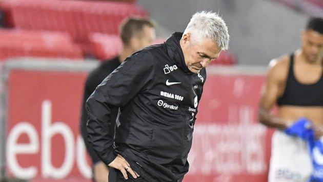 Kåre Ingebrigtsen har fått en blytung start på sin tid som trener for Brann.