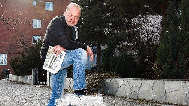 Knut Bråthen er ansvarlig redaktør og daglig leder i Eikerbladet og Bygdeposten. Han fylte 50 år tidligere i år.