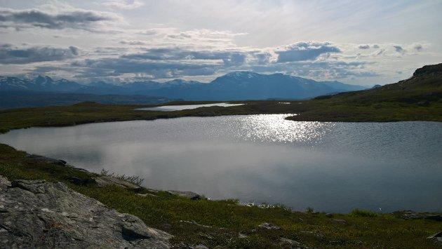 Like syd for Øvre Neverfjellvann