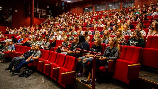 JUSS PÅ LILLEHAMMER: Høgskolen i Innlandet rekrutterer stadig bedre til jusstudier. Målet er å få på plass et femårig master-løp på Lillehammer, med drahjelp fra UiO. (Bildet har ikke tilknytning til saken).