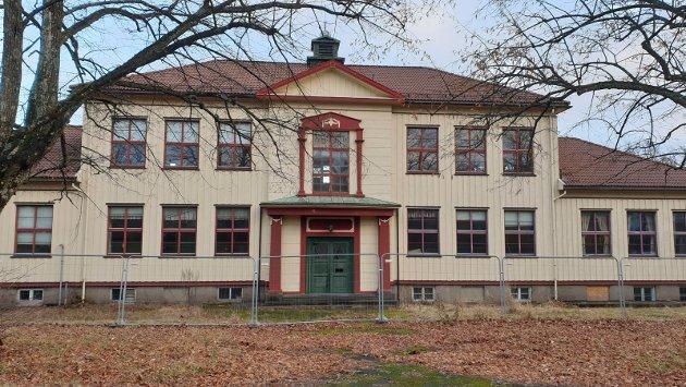 Grindløkken skole har flott arkitektur.