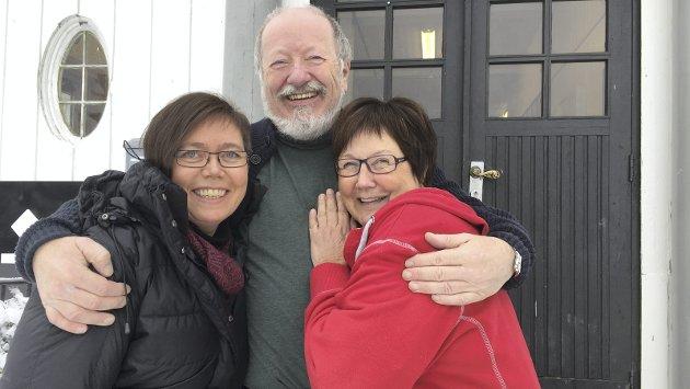 Brumund: Mottaksleder Erling segelstad sammen med Jane Molstad og May Ljungqvist