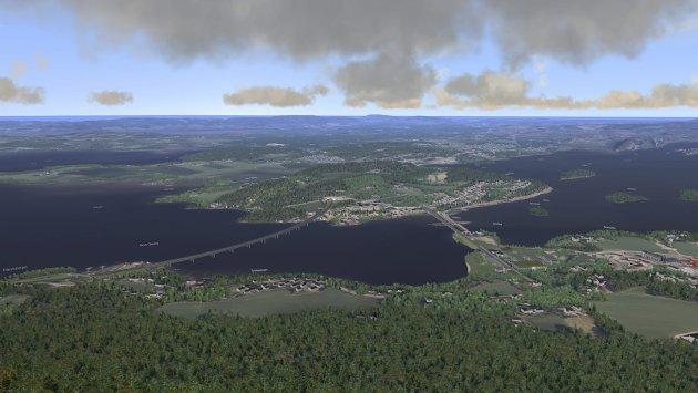 Ringeriksbanen og ny E16 vil føre til store inngrep i friluftsområdet, mener Morten Dåsnes.