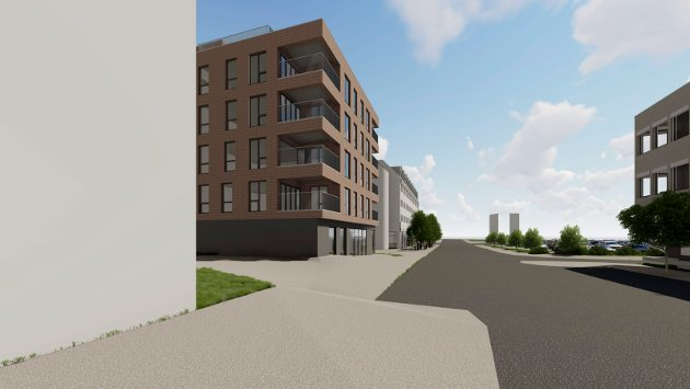 CITYGÅRDEN: Her ser man Citygården og litt av Scandic Hotell, sett fra Kirkegata. Snart kommer planforslaget ut på offentlig høring.