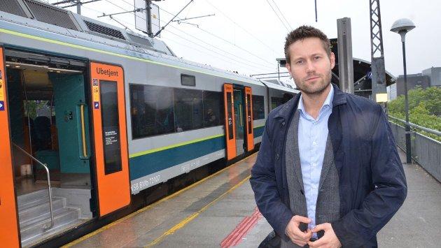 HJELP: Kjartan Alexander Lunde i Rogaland Venstre reagerer over at SV angriper nettopp dem i debatten knyttet til jernbane.