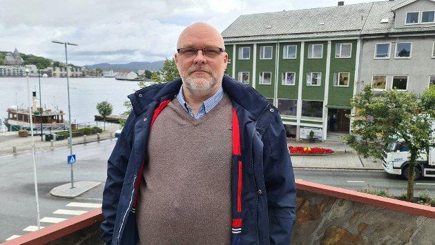 Stig Anders Ohrvik er gruppeleder for Nordmørslista i Kristiansund