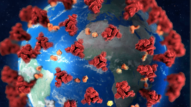 USIKKERT: Er det viruset vi skal frykte, eller en økonomisk kollaps, spør forfatteren.